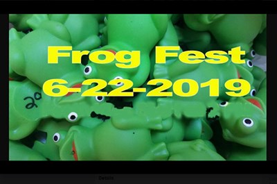 Frogfest poster