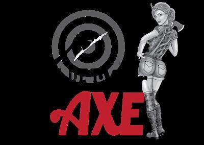 You Bet Your Axe! logo