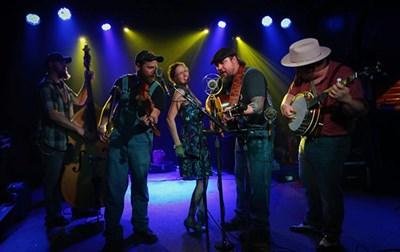 Hillbilly Gypsies on stage