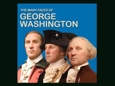 Three Different Faces of George Washington