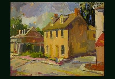 Main Street, Ellicott City by Rana Geralis, from Paint It!