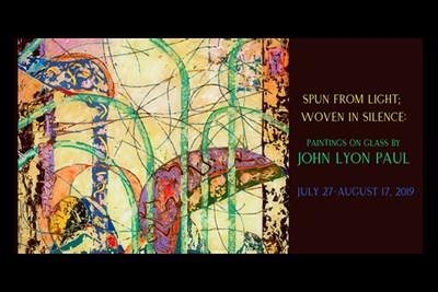 Paintings on Glass by John Lyon Paul