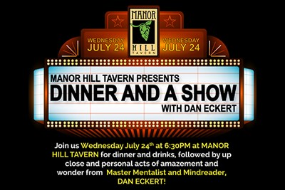 Dinner & A Show Marquee