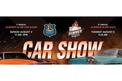 Summer Slam Car Show poster