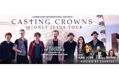 Casting Crowns - Only Jesus Tour Poster