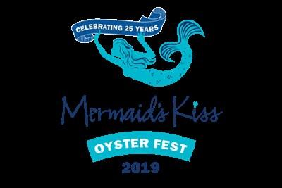 Mermaid's Kiss Oyster Fest Logo