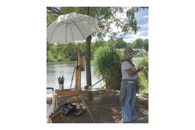 Plein Air Painting in Columbia
