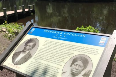 A Frederick Douglass Roadside Marker