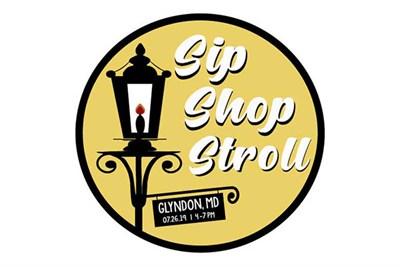 Glyndon Sip, Shop, & Stroll logo