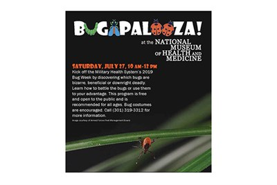 Bugapalooza at the Medical Museum poster