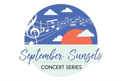 September Sunsets Concert Series Logo