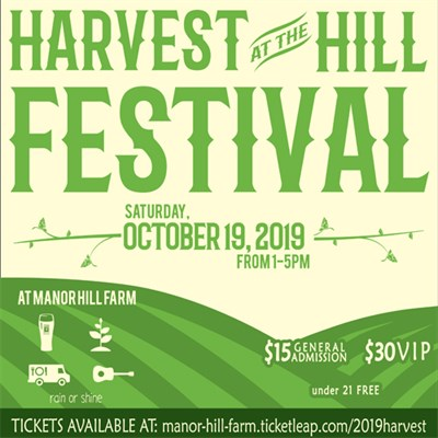Harvest at the Hill Poster