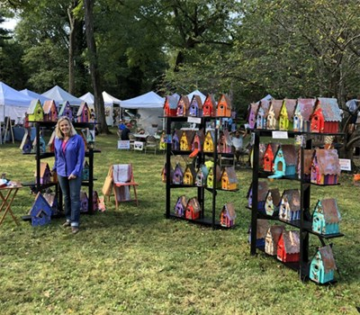 You'll see an amazing variety of arts and crafts at this year's Fall Festival.