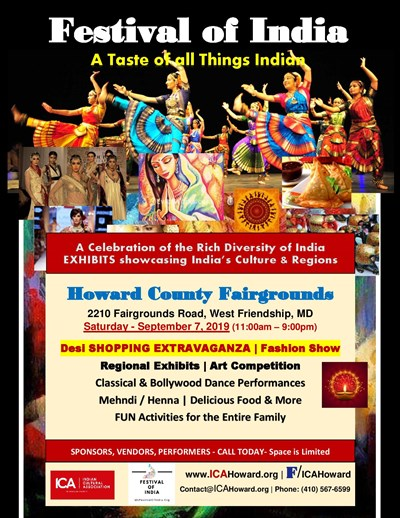 Festival of India Flyer