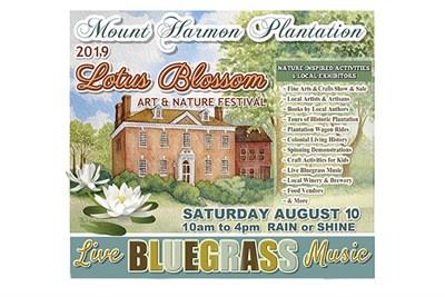 Mount Harmon Lotus Blossom Festival poster