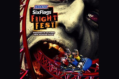 Fright Fest advertising poster