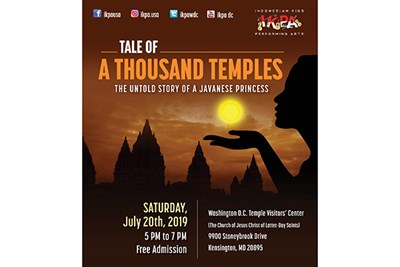 Tale of a Thousand Temples poster