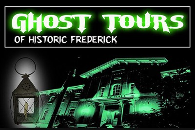 Maryland's Most Haunted City Ghost Tour Poster