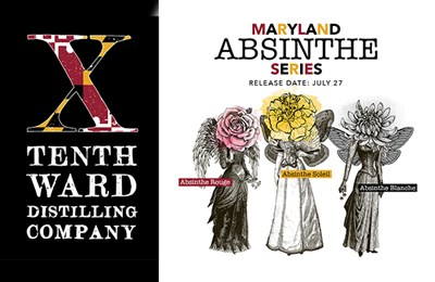 Tenth Ward Absinthe Release poster