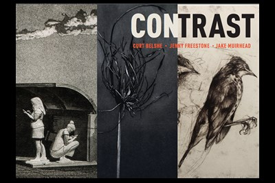 CONTRAST exhibition at Pyramid poster