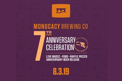 Monocacy Brewing Company Anniversary