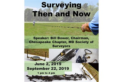 Surveying Then and Now flyer