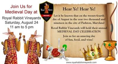 Royal Rabbit Vineyards Medieval Festival