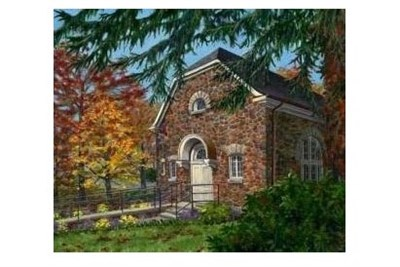 Painting of Carroll Baldwin Hall.