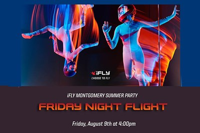 iFLY Summer Event Poster