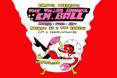 August 31 the CM.BALL returns to close out the summer in style! Live Music, Popsicles & Love!