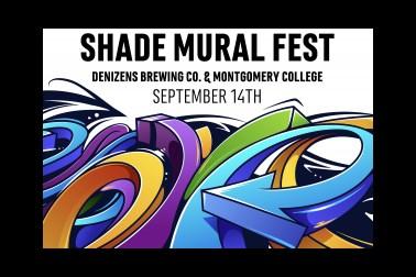 Shade Mural Fest poster