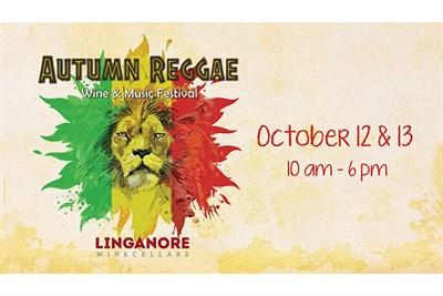 Autumn Reggae Wine Festival poster