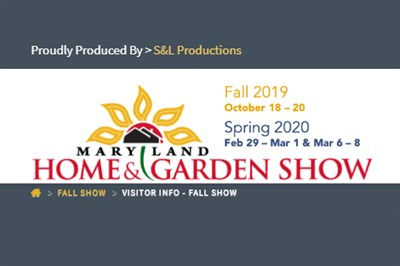 Fall Maryland Home and Garden Show poster