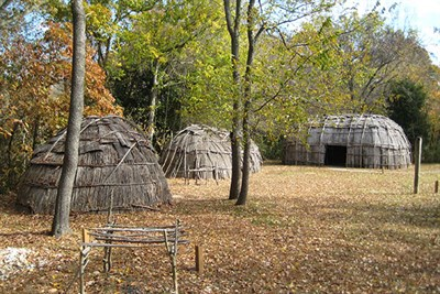 The American Indian Village Recreated at JefPat