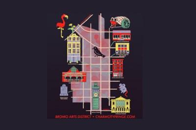 Charm City Fringe Festival poster from 2018