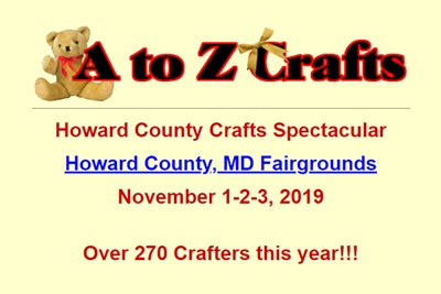 Howard County Crafts Spectacular poster