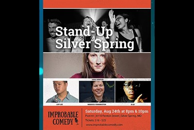 Stand-Up Silver Spring poster