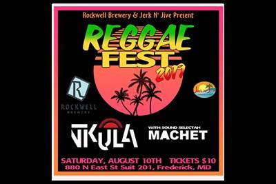 Reggae Fest 2019 poster