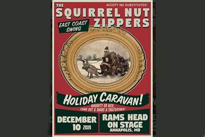 Squirrel Nut Zippers poster