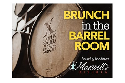 Tenth Ward for Brunch in the Barrel Room poster