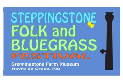 Steppingstone Folk & Bluegrass Festival poster
