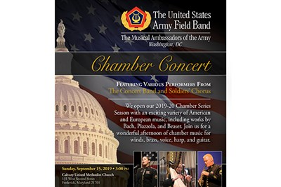 Army Field Band Chamber Series Flyer