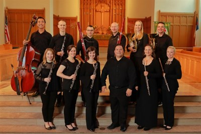 National Chamber Winds ensemble, conducted by Dr. Robert Ambrose