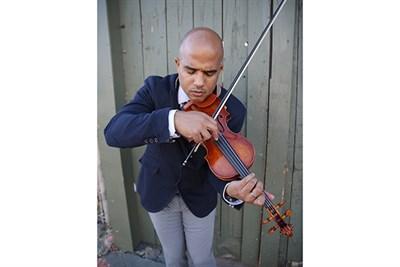 Daniel Bernard Roumain, violin