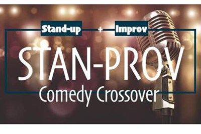 Stan-Prov Comedy Crossover poster