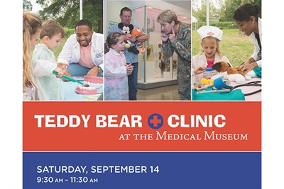 Teddy Bear Clinic at the Medical Museum