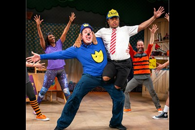 Dogman: The Musical on stage