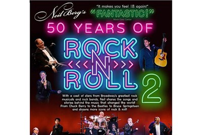 Neil Berg's 50 Years of Rock 'n Roll poster