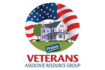 Perdue Veterans Associate Resource Group Logo