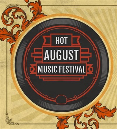 Hot August Music Festival logo